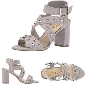 Circus by Sam Edelman Gray Ophelia Studded Sandals
